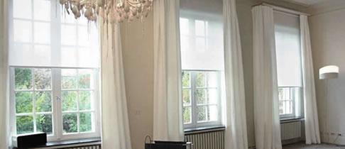 Al 25 jaar kwaliteit raamdecoratie binnenzonwering for Warmtewerende gordijnen