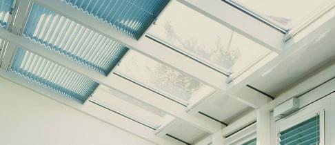 Zonwering serre binnenkant studio kop en schotel - Decoratie binnen veranda ...